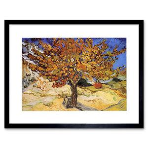Van-Gogh-Mulberry-Tree-1889-Old-Master-Framed-Wall-Art-Print