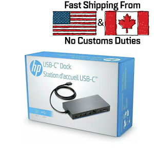 HP-Genuine-Elite-USB-C-Dock-Docking-Station-With-65W-Charger-for-USB-C-Laptops