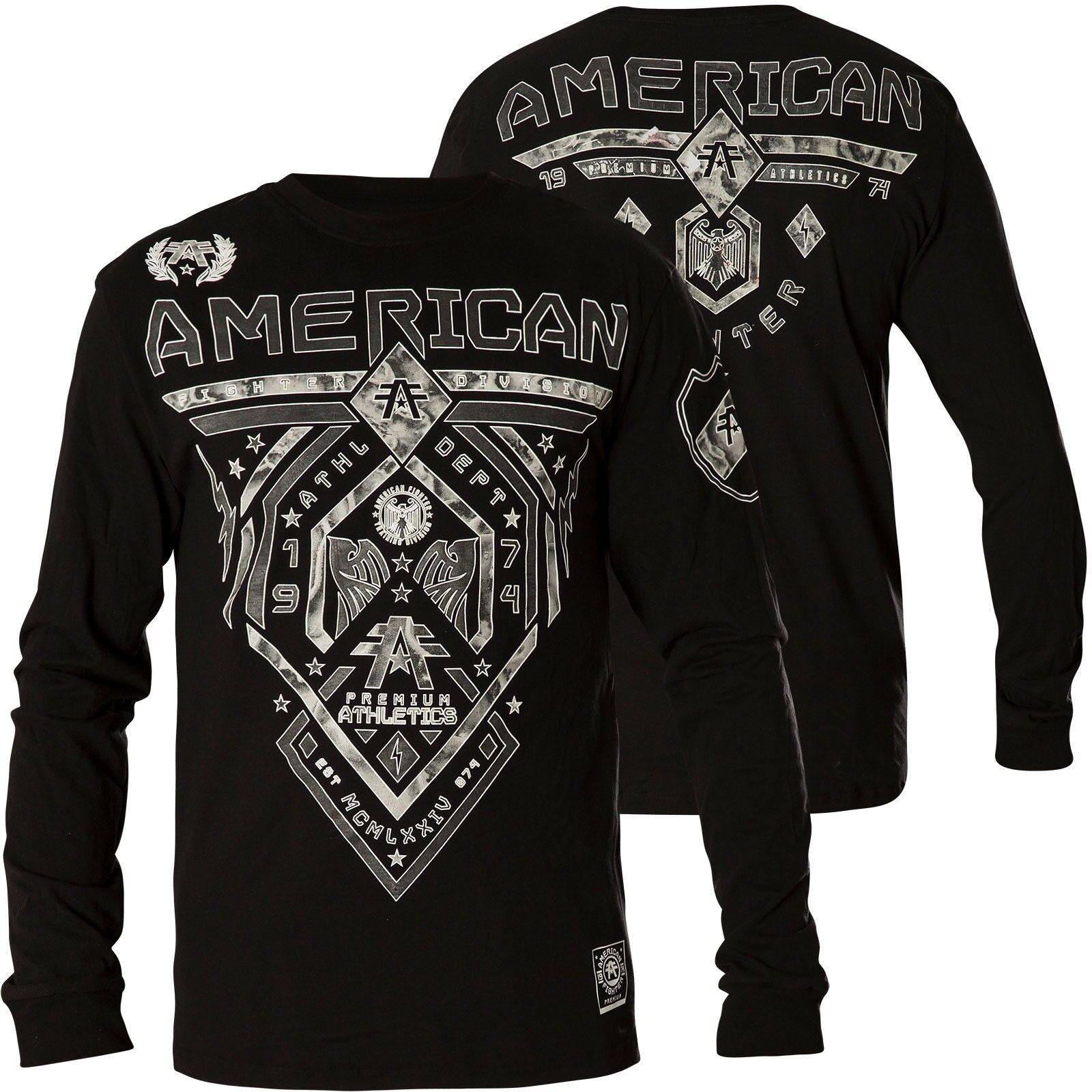 AMERICAN FIGHTER Affliction Pullover Fairbanks Schwarz Sweatshirts