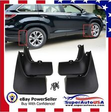 FOR 2014 2015 2016 TOYOTA Highlander Mud Flaps Splash Guard Fender Mudguard kit