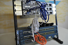 CCNA Cisco Lab Kit 2xCisco1841 15.1 IOS 2xWS-C3548-XL-EN 6MthWtyTaxInv CCNA CCNP