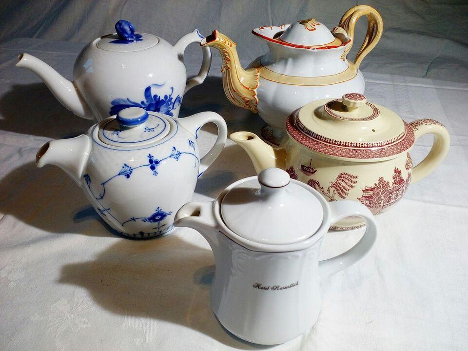 Porcelæn, Tekander