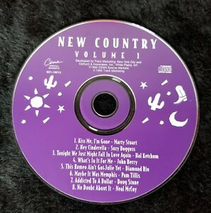 Audio-CD-NEW-COUNTRY-Volume-1-USED-Like-New-LN-WORLDWIDE-SHIPPING
