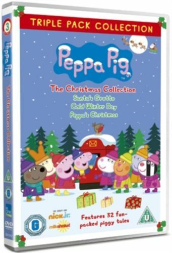 Peppa Pig  The Christmas Collection  (DVD)      Brand New