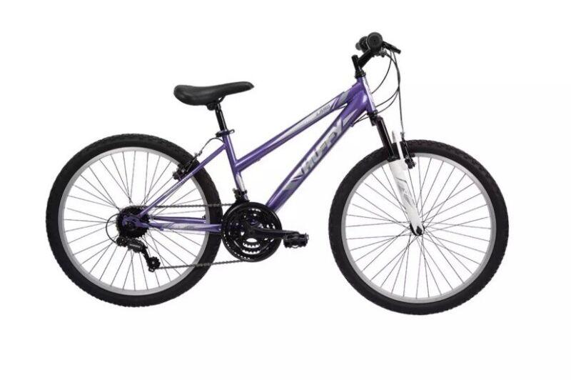 Huffy Women Highland 24 inch Mountain Bike - Purple
