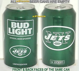 Image Is Loading 2016 NEW YORK JETS BUD LIGHT KICKOFF BEER