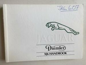Jaguar Daimler XJ6 Driver's Manual Handbook 1993 #JJM100205/30