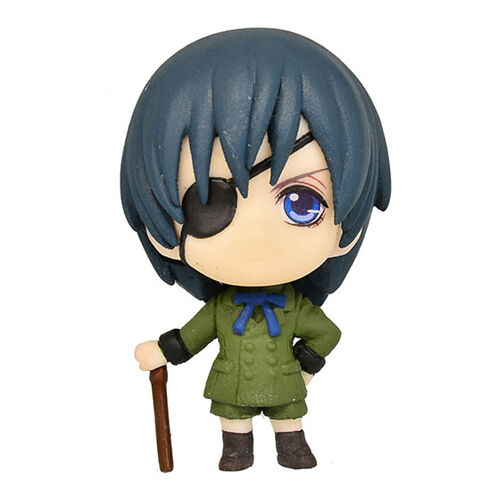 Black Butler Book of Circus Ciel Swing Key Chain Licensed NEW