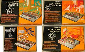 16x Kosmos Elektronik Labor XR XS XU1 XU2 UNBENUTZT Telekosmos-Praktikum OVP - Fürth, Deutschland - 16x Kosmos Elektronik Labor XR XS XU1 XU2 UNBENUTZT Telekosmos-Praktikum OVP - Fürth, Deutschland