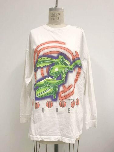 ⭕ 90s Vintage LOONEY TUNES Raver T-Shirt : space j