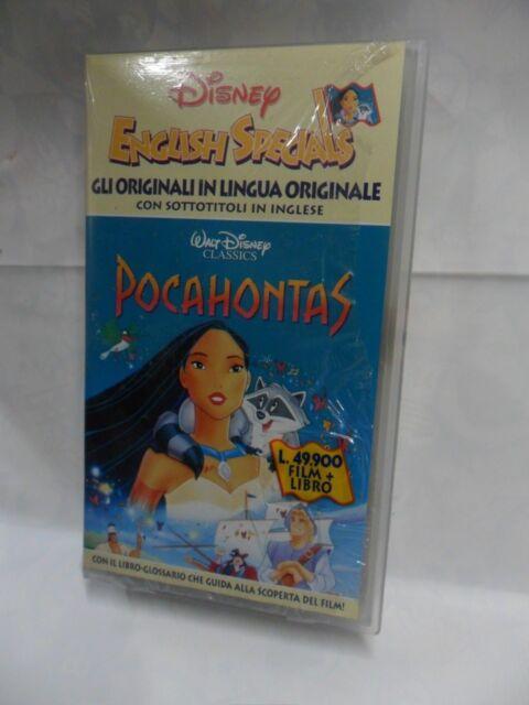 Pocahontas vhs walt disney i classici classico d animazione