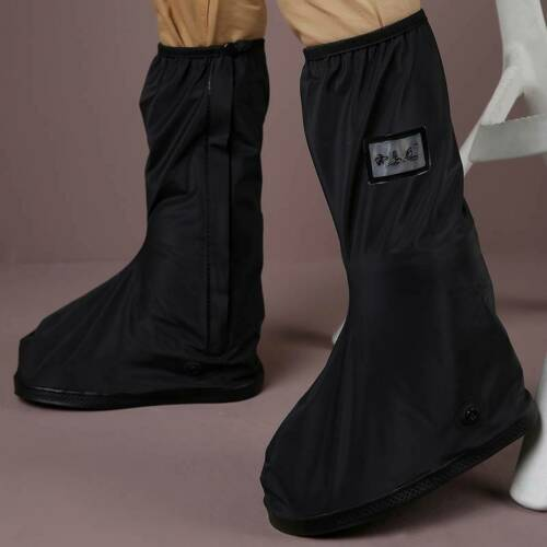 Details about  /Waterproof Rain Shoe Covers Shoes Gear Overshoes Reusable Boot Anti-slip Lin