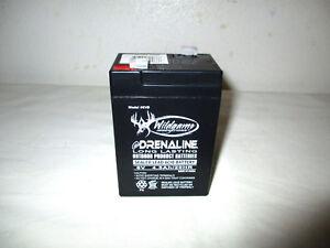 WGI-6VB Wildgame Innovations eDRENALINE 6-Volt Rechargable Batteris -CAR02B 2