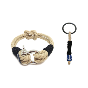 Nautical-Rope-Bracelet-Sailing-Mens-Womens-Handmade-and-Travel-Thread-Keychain