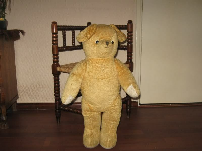 Old Antique 1930s Dutch Arthur Van Gelden Bear 66 cm 26 Inch