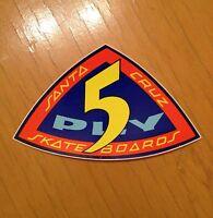 vintage skateboard santa cruz sticker powell G&S sims NOS 70's hobie