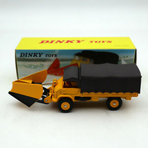 1-43-ATLANTE-DINKY-567-chasse-NEIGE-UNIMOG-Spazzaneve-Mercedes-Benz-Diecast
