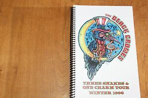 The-Black-Crowes-TOUR-ITINERARY-Three-Snakes-One-Charm-Tour-Winter-1996