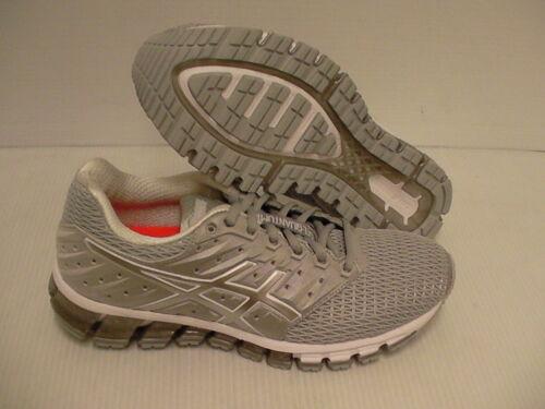 Plata Tamaño 7 Us 5 Grey mujer Gel Blanco de Mid Asics correr Quantum 2 de Zapatillas 180 xfOzag6wq