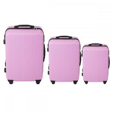 FDW Luggage 3-Pcs Trolley Suitcase 4