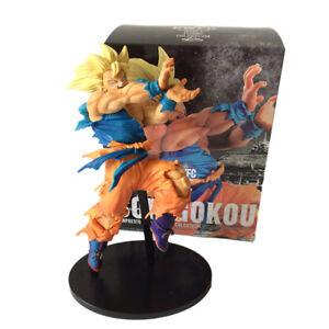 DRAGON-BALL-Z-Goku-Super-saiyan-kame-BWFC-Action-figure-18cm