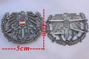 Insigne Métal Pour Casquette Armée De Terre Autrichienne P5okw1ko-07233925-919318381