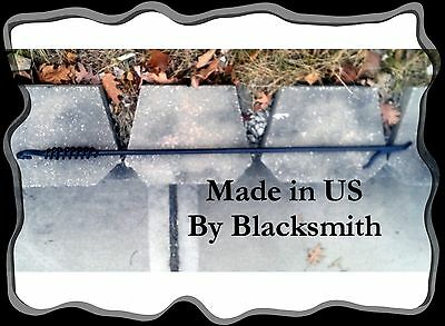 """Made in US by a Blacksmith***FREE SHIPPING* Heavy Duty Fireplace Fire Poker 47/"""""""