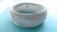 Tiffany-amp-Co-Somerset-Mesh-Bangle-Bracelet-Sterling-Silver-Retired thumbnail 5