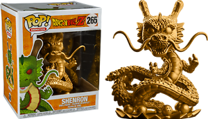 Funko Pop Dragon Ball Z Shenron gold   Vinyl Figure