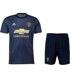 wholesale dealer 61355 61c62 Details about ADIDAS MANCHESTER UNITED AUTHENTIC 2018/19 3RD JERSEY AND  SHORTS NEW WITH TAGS!