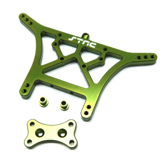 STRC ST3638G Aluminum Rear Shock Tower Traxxas Stampede / Slash / Rustler (green