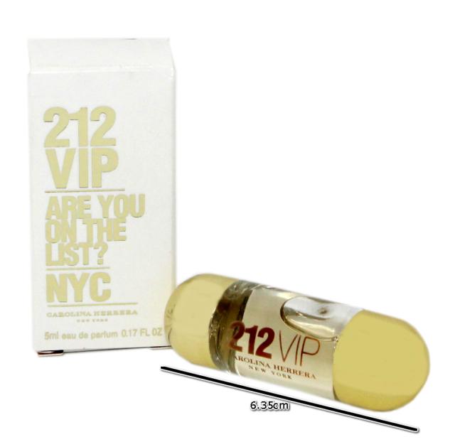 Carolina Herrera 212 Vip Nyc Eau De Parfum Splash 5 Ml017 Floz