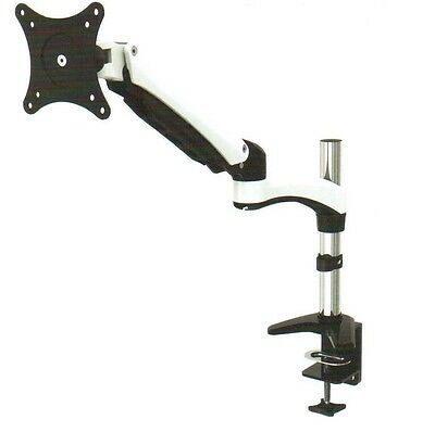 """RobotArm GM112F Gas Spring Desk Mount LCD for 15/"""" to 27/"""" LCD or LED monitors NEW"""