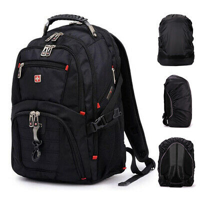 "Men Women Waterproof Laptop Backpack Travel School Bag Rucksack For 15/"" Notebook"
