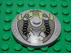 LEGO-Inverted-Dish-4x4-Life-on-Mars-Pattern-Light-Gray-2001-7-12-3960-Boys-Girls