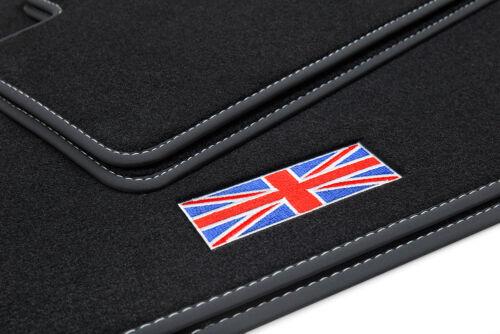 2014 Exklusive Union Jack Fußmatten für Mini 3 III 3-Türer F56 Bj