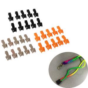 25mm 3 Point Side Release Buckle Clip Cord Strap Webbing Backpack Bag Three Loop