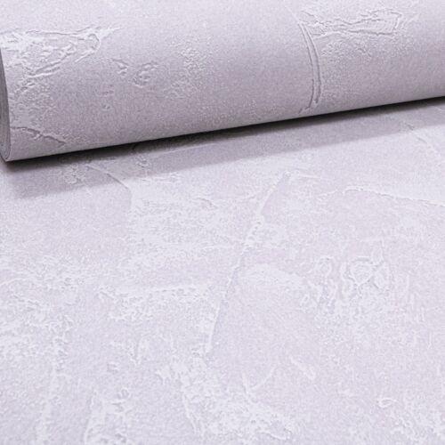 Plain gris béton plâtré Effet Texturé Vinyle Papier Peint Coller Au Mur