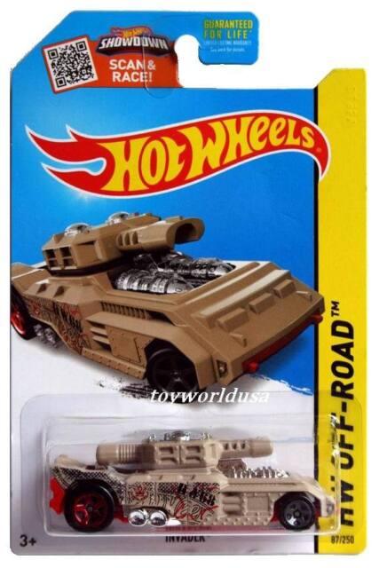 2015 Hot Wheels #87 HW Off-Road Battle Kings Invader