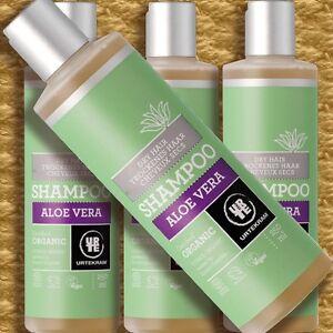 Urtekram-Shampoo-Aloe-Vera-Trockenes-Haar-250ml-Naturkosmetik-silikonfrei-Bio