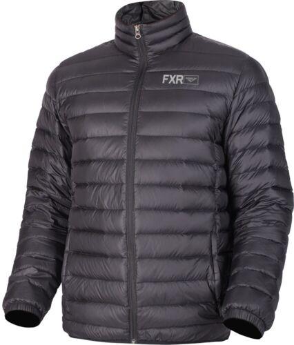 FXR Thermic Lite Down Mens Snow Jacket Black Ops