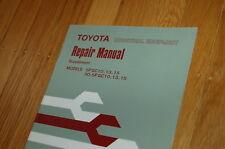 Toyota Forklift Truck Daikin Torque Converter Repair Service Manual Supplement