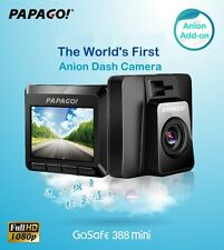 PAPAGO GoSafe 388Mini⊕Made in Taiwan⊕Car Cam DVR WDR Recorder/Anion Add-on