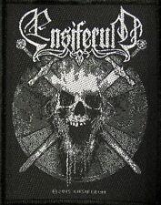 ENSIFERUM - Skull - Aufnäher / Patch - 7,5 x 10 cm - Neu #2391