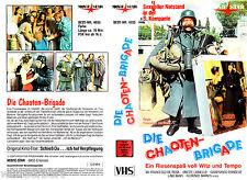 """VHS - """" Die Chaoten-BRIGADE ( Schieß Du... ich hol Verpflegung ) """" (1977)"""