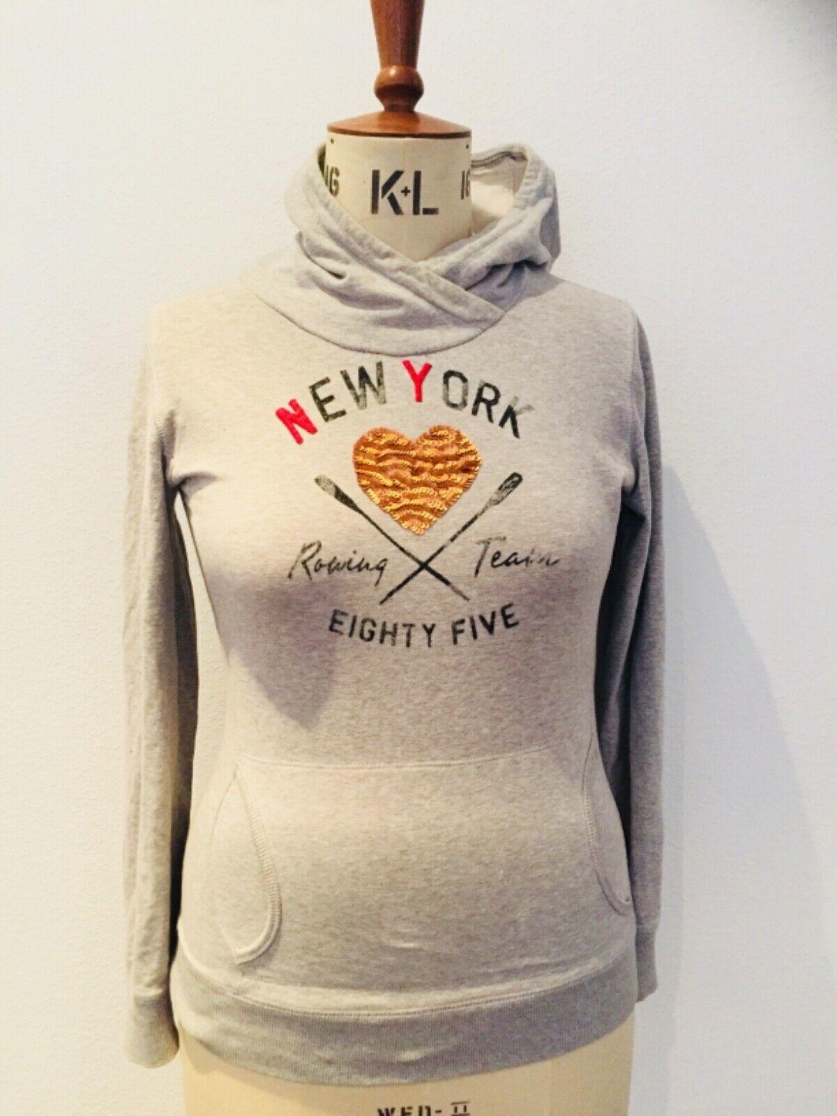 Tommy Hilfiger womens grey hoodie size 16