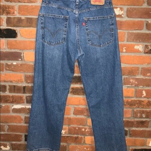 Levi's 569 Loose Straight Jeans Womens Size 32 Hig