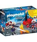 Bomberos con bomba de agua Playmobil 4008789094681