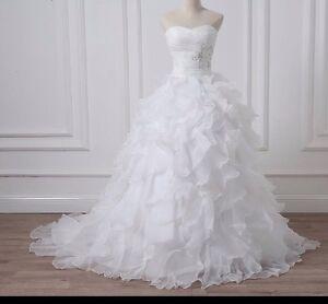 Uk Plus Size White Ivory Sweetheart