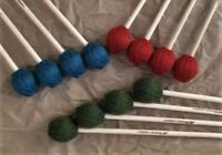 Marimba Mallets - 6 Pairs - Jet Percussion
